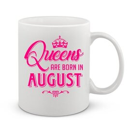 Чаша Queen are born in august