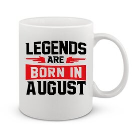 Чаша Legend are born in August