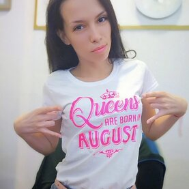 Константина Queen are born in august