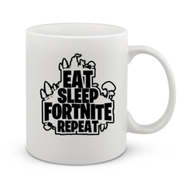 Чаша Eat sleep Fortnite
